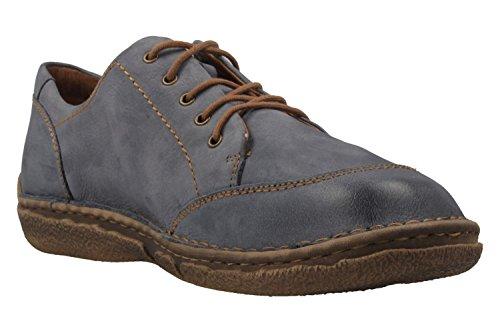 Azul de Mujer Zapatos Derby para Jeans Josef 02 Cordones Seibel Neele 540 789 IqWwnCgz