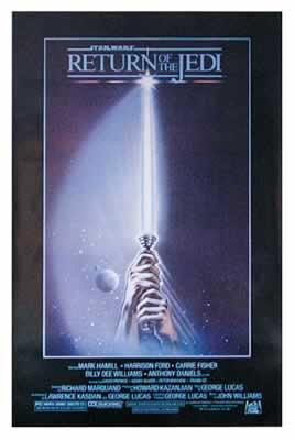 Star Wars Episode Vi: Return of the Jedi Movie Poster