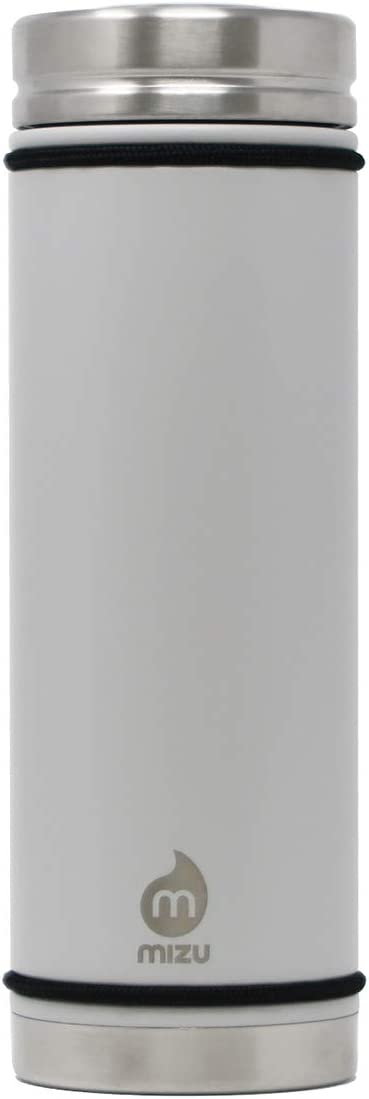 BPA Free Double Wall Stainless Steel Vacuum Insulated Wide Mouth with Leak Proof V-Lid Mizu Multiple Colors 21 oz V7 Water Bottle