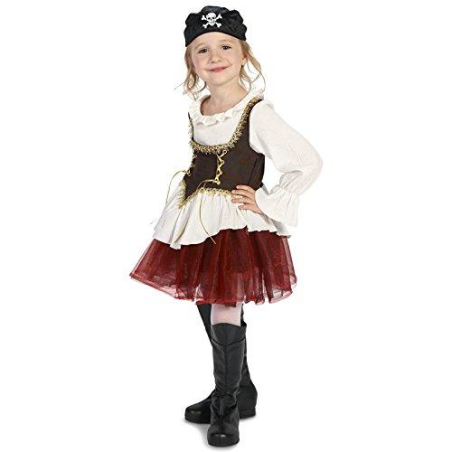 Damsels In Distress Halloween Costumes (Pirate Tutu Girl Child Costume S (4-6))