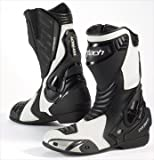 Cortech Men's Latigo Air Road Race Boot(White/Black, Size 11), 1 Pack