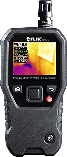 - FLIR MR176 Imaging Moisture Meter with Temperature and Relative Humidity Measurements