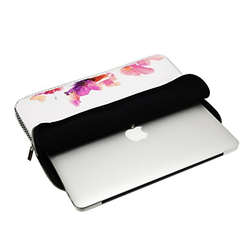13-Inch Violet Reflection Reversible Sleeve Bag for Macbook //Air //Pro//Chromebook