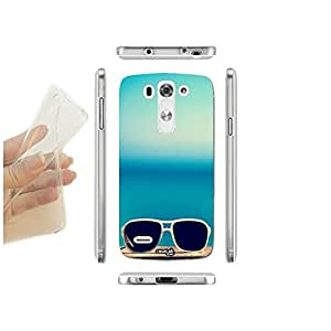 FUNDA CARCASA SLIM GLASSES SEA PARA LG G3S D722 TPU