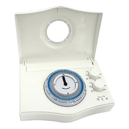 Watts termostato de – Termostato de fijo – Reloj semanal chronobat