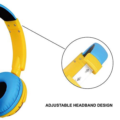 Contixo Kids Safe Stereo Bluetooth Headphones With Volume