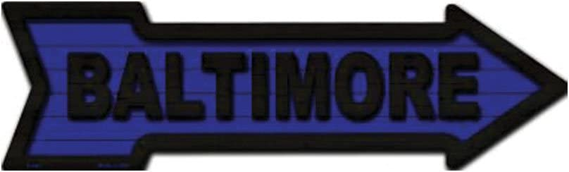Baltimore Novelty Metal Arrow Sign A-343