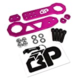 240sx tow hook - BlackPath - Universal Fitment Front and Rear JDM Racing Style Tow Hook Set (Pink) T6 Billet