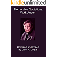 Memorable Quotations: W.H. Auden