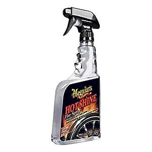 Meguiar's Hot Shine High Gloss Tire Spray. 24 oz.