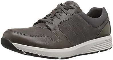 ROCKPORT Women's Trustride Derby Trainer Fashion Sneaker, Dark Grey, 5 M US