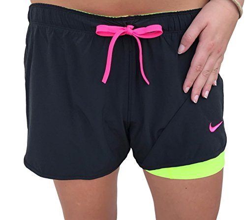 Nike Just Kickin' It Dri FIT Double Layer Shorts for Women