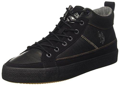 U Alto Collo Sylvester POLO S ASSN a Uomo Sneaker Nero fqf1wCO