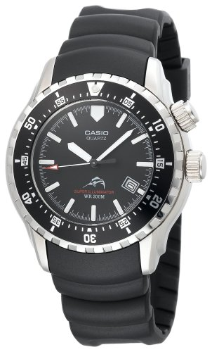 Casio Men's MDV102-1AV Sea Analog Illuminator Dual LED Dive Watch