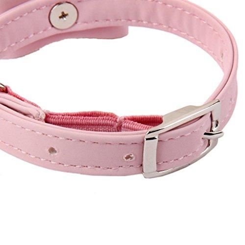 HAME Adjustable Pet Kitten Cat Puppy Safety Collar Bell Buckle Neck Strap (Multicolor)