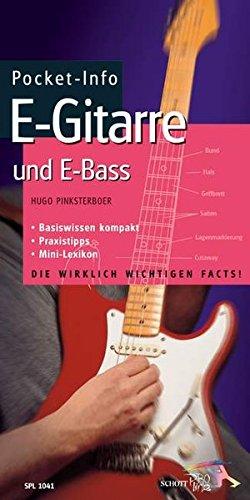 Pocket-Info, E-Gitarre und E-Bass