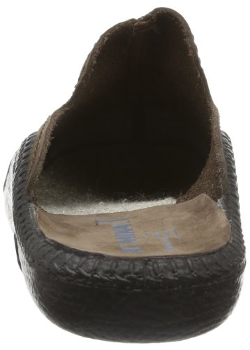 Romika Schoenen. Model Mokasso 202. Lederen Herenpantoffels. Zwart