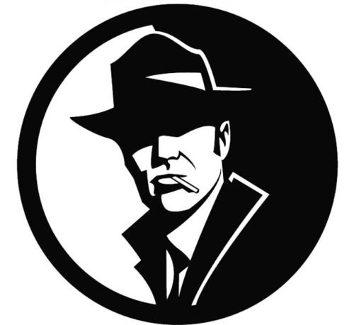 Private Die - PRIVATE INVESTIGATOR HEAD CAR DECAL STICKER, White, 16 In, Die Cut Vinyl Decal, For Windows, Cars, Trucks, Toolbox, Laptops, Macbook-virtually Any Hard Smooth Surface
