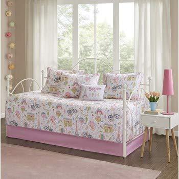 Comforters Kids Daybed - Mi Zone Kids Bonjour Daybed Set, Pink