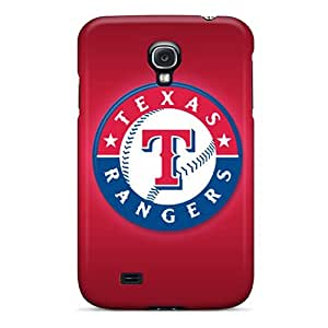 SherriFakhry Samsung Galaxy S4 High Quality Hard Phone Cases Provide Private Custom High Resolution Texas Rangers Skin [hqS16713UHjr]