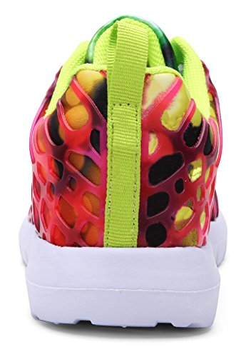 Trainers Maylen Casual Comfortable Lightweight Hughes Walking Gym Breathable Sneakers Red Womens Shoes gtRw4xqt