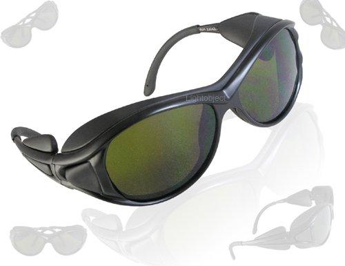 (Lightobject LSR-G808EP5 Infrared Laser Eyes Protection Glasses/Goggle, 808/904/1064 nanometer)