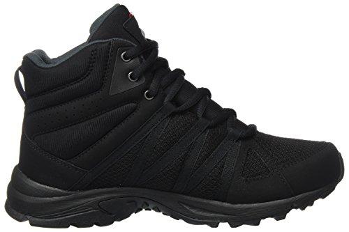 Mid para Negro Viking Black de Zapatillas Komfort 2 Mujer Senderismo W wOxxPf4T