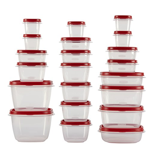 Rubbermaid Easy Find Lids Food Storage Containers