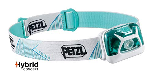 PETZL - TIKKINA Headlamp, 250 Lumens, Standard Lighting, White