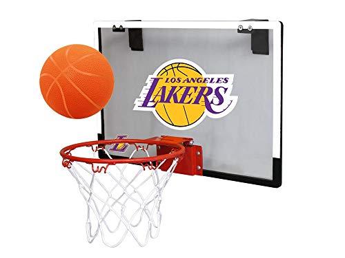NBA Los Angeles Lakers Game On Indoor Basketball Hoop & Ball Set, Large, Purple