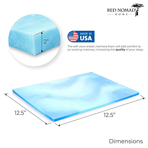 Red Nomad King Size 3 Inch Thick Ultra Premium Gel