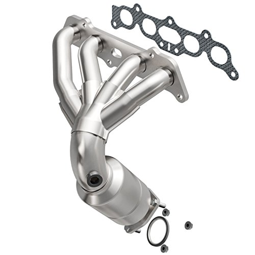 MagnaFlow 56016 Large Stainless Steel CA Legal Direct Fit Catalytic Converter (56016 Kits)