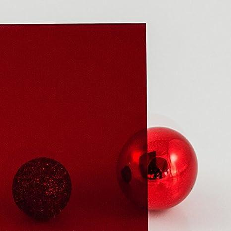 Lichtdurchl/ässigkeit 4/% Messe- und Ladenbau Dekoration zur Produktpr/äsentation PLEXIGLAS/® rot Cherry GS 3C01 Ma/ß: 70x50x0,3 cm