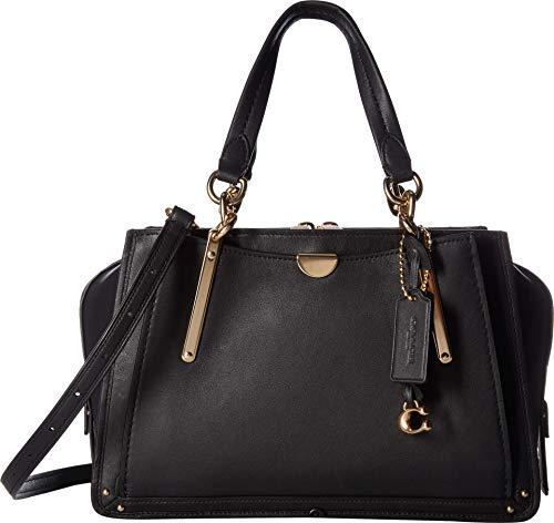 COACH Women's Dreamer in Smooth Grain Leather Li/Black One Size -