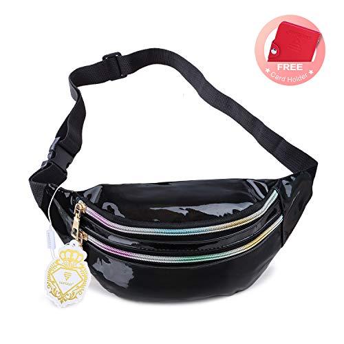 Fanny Pack Belt Bag, Holographic Fanny Packs for