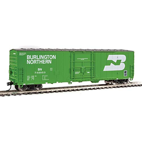 Walthers-50' Insulated Boxcar - Ready to Run -- Burlington Northern 748879 - HO