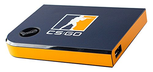 Valve Steam Link Skin CSGO Blue Orange