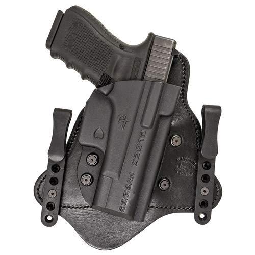 (Comp-Tac MTAC IWB Hybrid Glock 9/40/357 Slide RSC Black Holster)