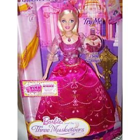 Barbie and the Three Musketeers Singing Corinne Doll (Barbie And The Three Musketeers Corinne Doll)