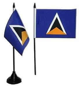Digni Bandera de mesa de Santa Lucía + libre Adhesivo