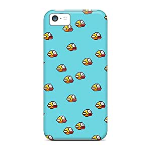 High Quality Flappy Birds Pattern Cases For Iphone 5c / Perfect Cases
