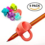 Pencil Grip Writing Aid Holder Pencil Grips For Kids Handwriting NEW Non-Toxic Silicone Posture Correction Finger Trainer Kids Preschoolers Children Special Needs FOR LEFT & RIGHT HANDED By Grip Write
