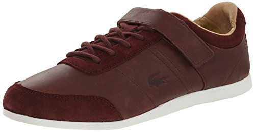 Lacoste Mens Embrun 3 Fashion Sneaker Dark Brown 8.5 M US