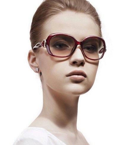 Vintage soleil de femmes Design pour mode Noir lunettes Retro de wOWqIR8