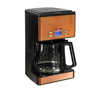 BEEM Germany Nobilis Copper-Style - Máquina de café, 1,8 l, color naranja
