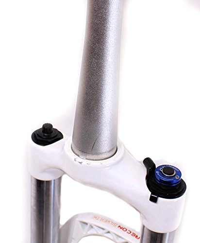 "Rock Shox Recon Silver TK Solo Air MTB Bike 26"" Tapered Suspension Fork 21.5 NEW"