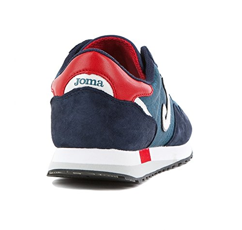 Yoma, Sneaker Da Uomo Blu Blu / Rosso