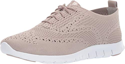 Cole Haan Women's Zerogrand Stitchlite Oxford Etherea Knit/Etherea Patent/Optic White 9.5 B US