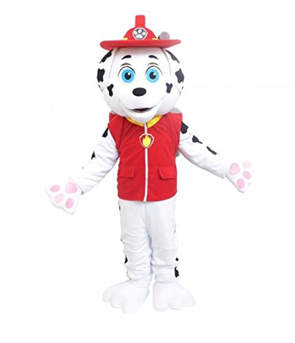 Paw Patrol Marshall Dog Costume Mascot Adult Size For Halloween or Birthday Boy or Girl Party Event Halloween