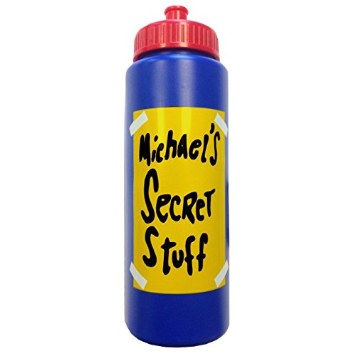 Michael's Secret Stuff Water Bottle ()